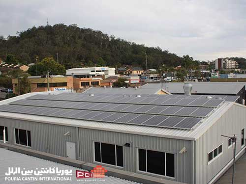 پنل خورشیدی کانکس