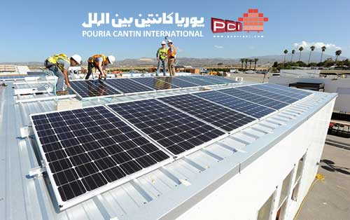 نصب سیستم های خورشیدی بر روی کانکس